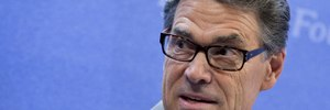Most Democrats support prosecution of Rick Perry image