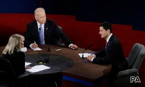 Post-Debate Vice Presidential Images: A Bump For Biden?