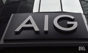 Highest Buzz score for AIG since September 2008