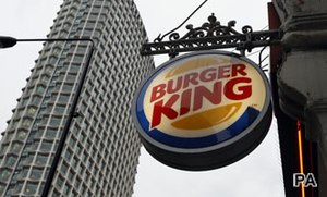 US consumers not affected by Burger King issues in the UK