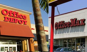 Office Depot and OfficeMax announce merger