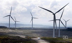 Scots support renewable energy