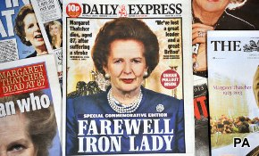 "Margaret Thatcher: ""The Iron Lady"" Admired By Most Americans"
