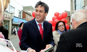 Ed Miliband's route to victory