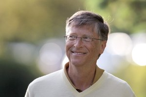 Bill Gates is the most admired person in the world