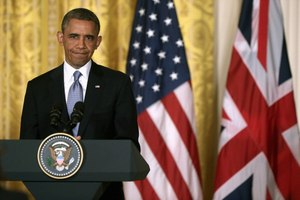 Doubts over President Obama have not reached Britain