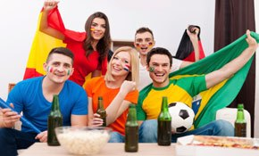 Takeaways and alcohol brands are World Cup winners too