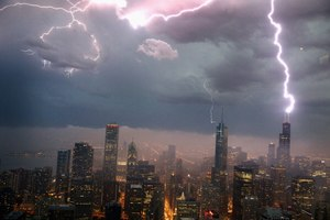 Storms: Exciting for most, scary for a few