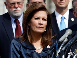 Bachmann: liked by GOP, even more loathed by Democrats