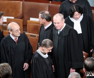 Justices not exempt from partisan perceptions