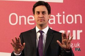 Ed Miliband: popular proposals, low approval ratings