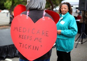 Government and health care - no to ACA, but yes to Medicare