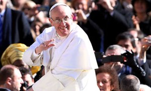 Pope Francis makes positive impact