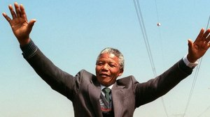 Nelson Mandela: up there with Churchill
