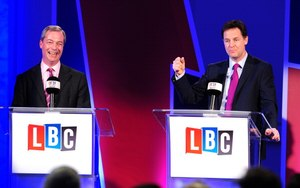 Farage wins debate with Clegg