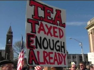 On Taxes, an Energized Minority
