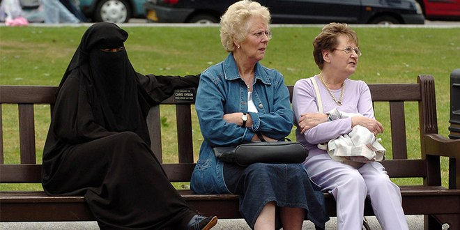 Ban the burka, says majority of the British public