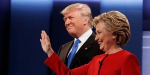 Americans think Clinton beat Trump in first presidential debate