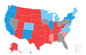 The YouGov Model: The State of the 2016 Election