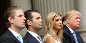 Few OK with Trump children's dual role