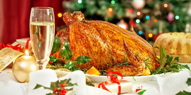 Only half want turkey in their ideal Christmas dinner