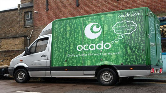 Who is Ocado looking to advertise to?