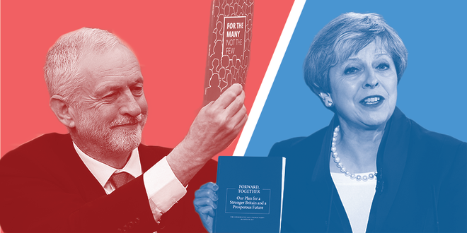Corbyn now level-pegging with May in best PM stakes