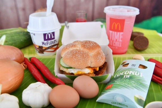 Singapore's lovin' it! New McDonald's menu proves a hit with younger generations