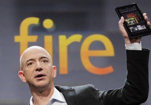 Kindle Fire ignites tablet war