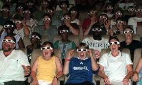 57% would see more 3D movies if they didn't need 3D glasses