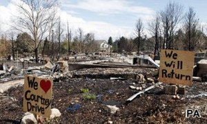 Have your say: Wildfire destruction
