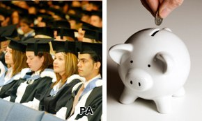 Uni fees: Public split