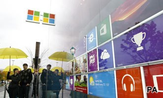 Microsoft, Bing and Windows all see Buzz lift