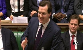 Osborne extends the gloom