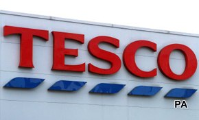 Tesco bounces back