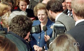 Thatcher takes over social media