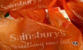 Sainsbury's outperforms Tesco among consumers