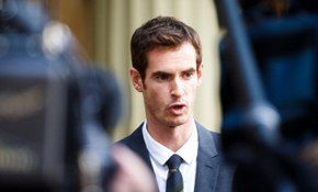Andy Murray receives OBE