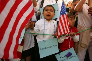 Divide over path to citizenship even for child illegal immigrants