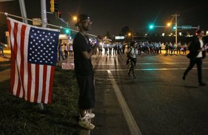 American shooting highlights racial and political divide