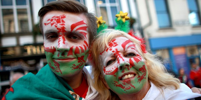 What makes a person Welsh, according to Welsh people