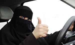 Eight in 10 Saudis agree women should drive in the Kingdom