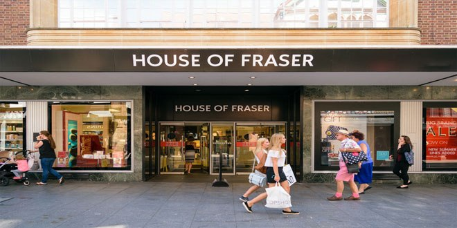 House of Fraser is losing out among younger shoppers