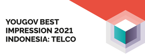 YouGov Impression Rankings 2021 Indonesia: Telco