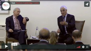 John Humphys interviews Alistair Darling on the economic future of Europe