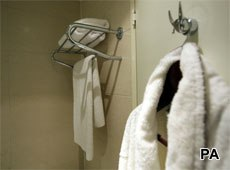 One in five Americans steal towels