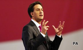 Miliband gets conference bounce