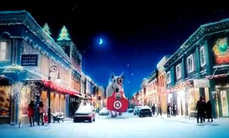 Target's early holiday ads pay off
