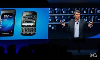 Is Blackberry back in the game?