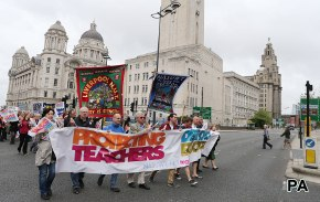 Voters split on 'right to strike' for teachers